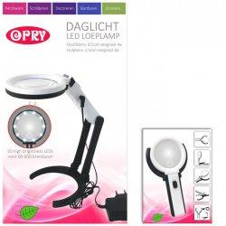 OPRY DAGLICHT LED LOEPLAMP OPLAADBAAR 8,5 CM DIAMETER 97072