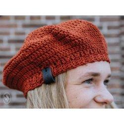 Pakket Dames Baret van Durable Cosy Fine 2239, Brick