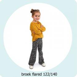 Patroon Broek Flared 122/140 056.ADIY93