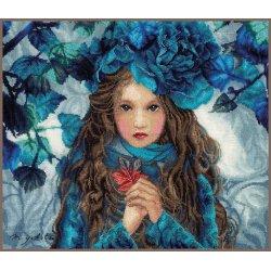 TELPAKKET KIT BLUE FLOWERS GIRL  PN-0188640