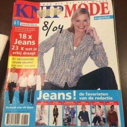 Knipmode augustus 2004