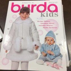 Burda Kids Inspiratie Showboek, 2012/2013