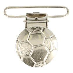 Bretelclips voetbal nikkel 10188-36