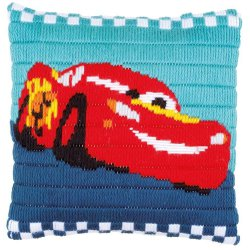 Cars SPANSTEEKKUSSEN KIT DISNEY LIGHTNING MCQUEEN