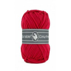 Durable Cosy Fine kleur 317 Deep red