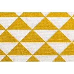 Ottoman bedrukt met driehoeken kleur 034