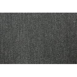 Punta met keper motief uni grijs 09080 068