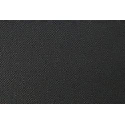 Punta met keper motief uni zwart 09080 069