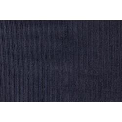 Corduroy Katoen Stretch Uni Blauw 130289 5026