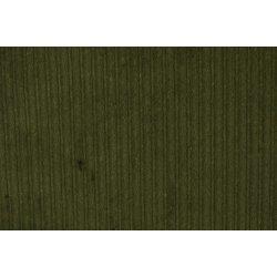 Corduroy Katoen Stretch Uni Groen 130289 5032