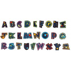 Pronty Fun Letters Jeans Alphabet