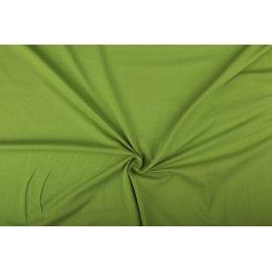Tricot Uni Katoen/Elastan groen 023