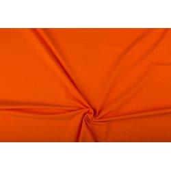 Tricot Uni Katoen/Elastan oranje 036
