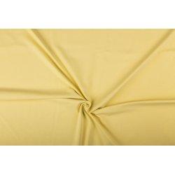 Tricot Uni Katoen/Elastan geel 233