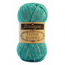 Stone Washed kleur 824 Turquoise