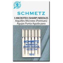 Schmetz microtex. Pakje 5 stuks.