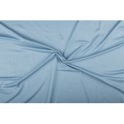 Tricot/Jersey Viscose Elastan Uni blauw 02194 301