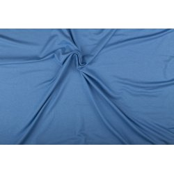 Tricot/Jersey Viscose Elastan Uni blauw 02194 303