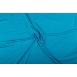 Tricot/Jersey Viscose Elastan Uni blauw 02194 504