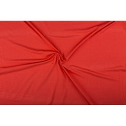 Tricot/Jersey Viscose Elastan Uni rood 02194 615