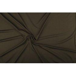 Tricot/Jersey Viscose Elastan Uni bruin 02194 627