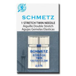 Schmetz stretch-tweeling. Dikte 2.5-75 of 4.0-75
