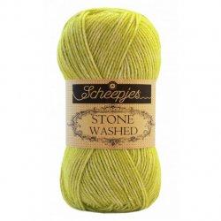 Stone Washed. Pendikte 3-3,5 mm. Kleur 827 Peridot Scheepjeswol