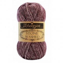 Stone Washed. Pendikte 3-3,5 mm. Kleur 830 Lepidolite Scheepjeswol