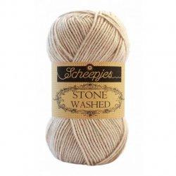 Stone Washed. Pendikte 3-3,5 mm. Kleur 831 Axiniti Scheepjeswol