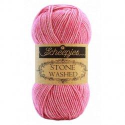 Stone Washed. Pendikte 3-3,5 mm. Kleur 836 Tourmaline Scheepjeswol