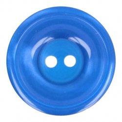 Knoop Bottoni Italiani 4348 201 blauw keuze uit 5 groottes