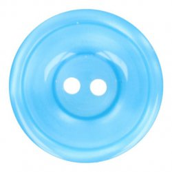 Knoop Bottoni Italiani 4348 258 blauw keuze uit 5 groottes