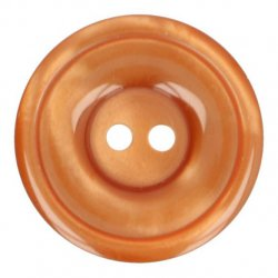 Knoop Bottoni Italiani 4348 653 bruin keuze uit 5 groottes