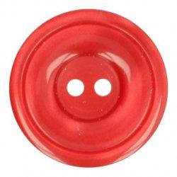 Knoop Bottoni Italiani 4348 722 rood keuze uit 5 groottes