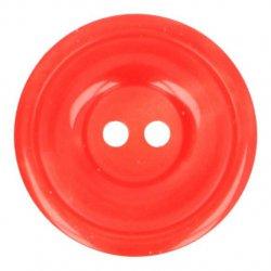 Knoop Bottoni Italiani 4348 725 rood keuze uit 5 groottes