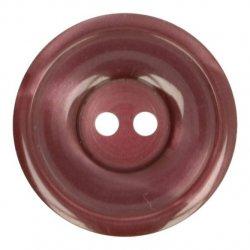 Knoop Bottoni Italiani 4348 763 rood keuze uit 5 groottes