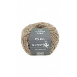 Durabel Chunky 340 Taupe 100% scheerwol
