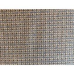 Katoen Tweed met driehoekjes Dessin 119 13