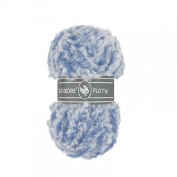 Durable Furry kleur 370 blauw