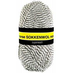 Noorse Sokkenwol. Pendikte 3-4 mm. Kleur 6850. Scheepjeswol.