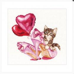 Thea G. Valentine's Kitten op Aida