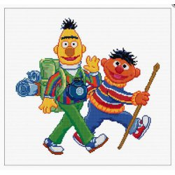 Thea G. Sesame Street Hiking op aida