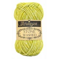 Stone Washed. Pendikte 3-3,5 mm. Kleur 812. Deep Amethyst. Scheepjeswol.