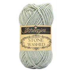 Stone Washed. Pendikte 3-3,5 mm. Kleur 814. Crystal Quartz. Scheepjeswol.