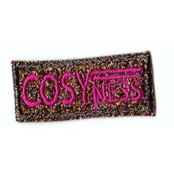 Applicatie COSYNESS glitter in roze