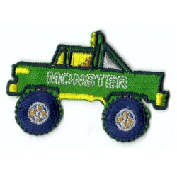 Applicatie Monstertruck groen