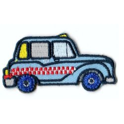 Applicatie London Taxi blauw