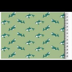 Katoen met Dolfijnen 128094 3003