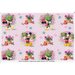 Mickey en Minie Mouse Tricot 127537