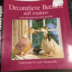 Boekje Decoratieve Beesten Zelf maken